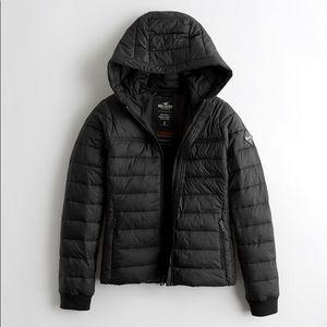 Hollister puffer jacket size XL